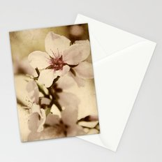 Apricot Bloom Stationery Cards
