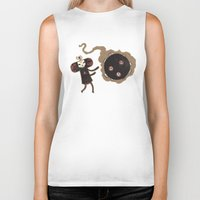 katamari Biker Tanks featuring Katamari of the Dead by Hector Mansilla