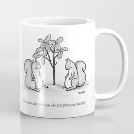 Forgetful Squirrel Coffee Mug