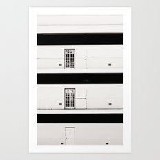 Doors To Nowhere Art Print