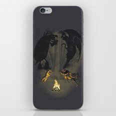 Let's settle it - in the shadows.  iPhone & iPod Skin
