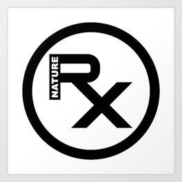 Rx Logo Art Print