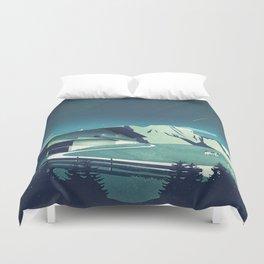 Alpine Hut Duvet Cover