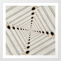 charmaine Art Prints featuring Playing with Matches by eye in the sky