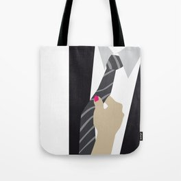 A well dressed man is a best accessory a woman can have. Tote Bag