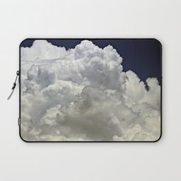 navy cloud Laptop Sleeve