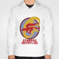 starfox Hoodies featuring Mercenary Unit - Starfox by TomStreetArt