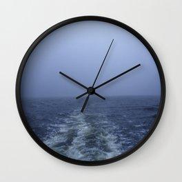 Edge of the Earth Wall Clock