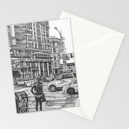 New York Taxis Stationery Cards