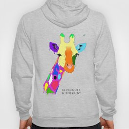 Be yourself, be different - Giraffa Hoody