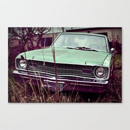 Junk Car 2 Canvas Print