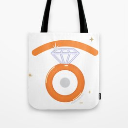 engagement glance Tote Bag
