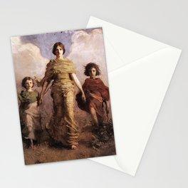 The Virgin 1893 Abbott Handerson Thayer Stationery Cards