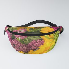 Pretty Flowers Fanny Pack
