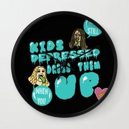 KASDWYDTU - Melanie M. Wall Clock