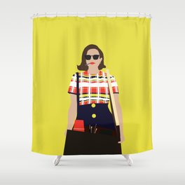 Peggy Olson Mad Men Shower Curtain