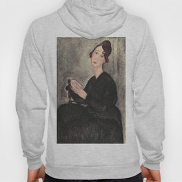 Portrait of Dedie Hayde by Amedeo Modigliani Hoody