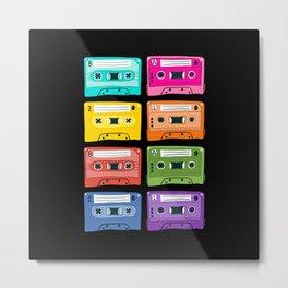 mixtapes Metal Print