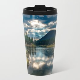 Snake River Revival - Morning Along Snake River in Grand Tetons Travel Mug