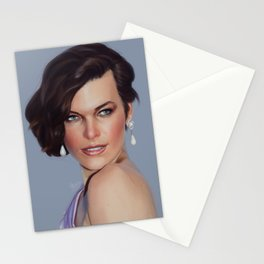 Milla Jovovich Stationery Cards