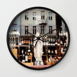 Bitte hör nicht auf zu träumen Wall Clock