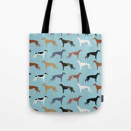 Greyhound Dog pet portrait dog lover must have gifts perfect christmas present for dog person Tote Bag