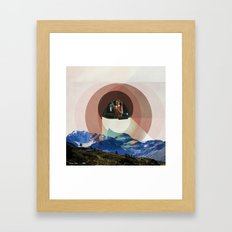 Floats Above Framed Art Print