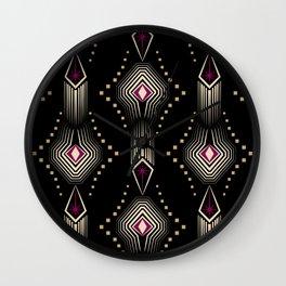 Art Deco. 22 Rumba Wall Clock