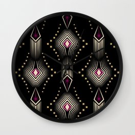 Art Deco. 22 Rumba Wall Clock