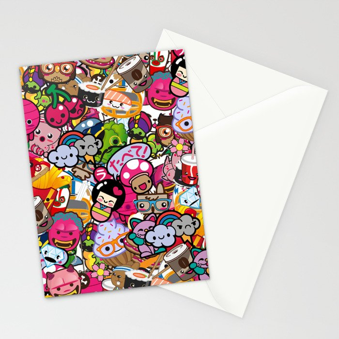 Supercombo #2 Stationery Cards