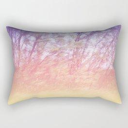 Trees in motion v2 Rectangular Pillow