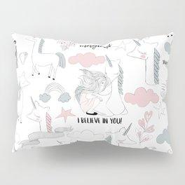 Unicorns Pillow Sham