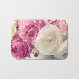 shades of pink Bath Mat