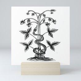 SNAKEY Mini Art Print