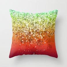 Glitteresques XI Throw Pillow