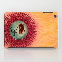 aries iPad Cases featuring Aries by Jen Hallbrown