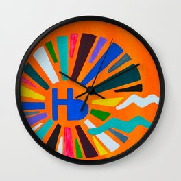 Hermosa Beach Wall Clock