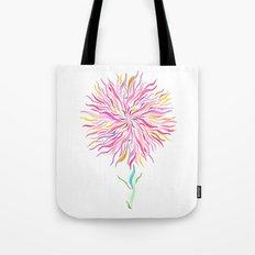 Pink Fairy Flower Tote Bag