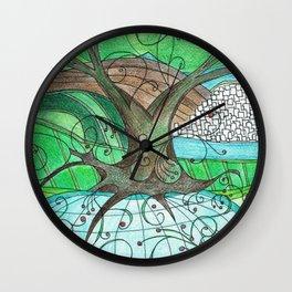 The World Tree Wall Clock