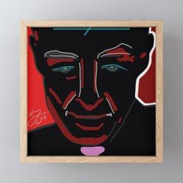 DEATH, DESTROYER OF WORLDS: PORTRAIT Framed Mini Art Print