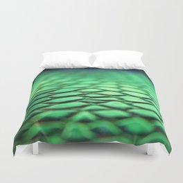 Green Skin Duvet Cover