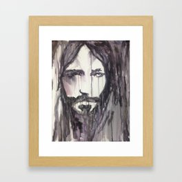 Bruised for Our Iniquity Framed Art Print