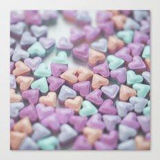 Hearty Love Canvas Print
