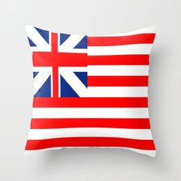 Authentic Original American Flag Throw Pillow