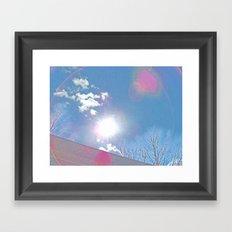 The Sun Bow Framed Art Print