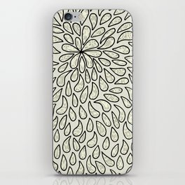 Pearlised Drops - Ivory iPhone Skin