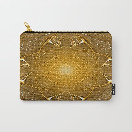 Gold ornament Carry-All Pouch