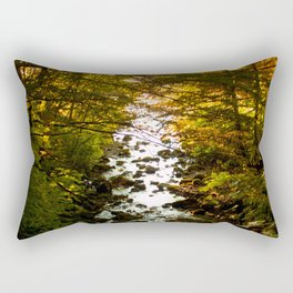 The Salmon's End Rectangular Pillow