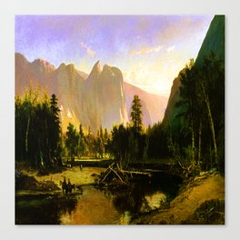 William Keith Yosemite Valley Canvas Print