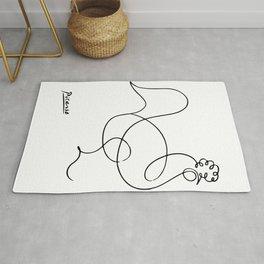 Pablo Picasso Le Coq 1918, Rooster Artwork, Animals Design, Posters, Prints, Tshirts, Men, Women, Ki Rug